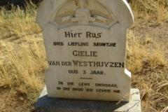 Van der Westhuizen, Gielie aged 3 years old
