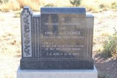 Visagie, Eerw CJJ born 07 July 1899 died 31 October 1959
