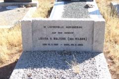 Walters, Louisa H nee Wilson born 12 November 1891 died 26 November 1963