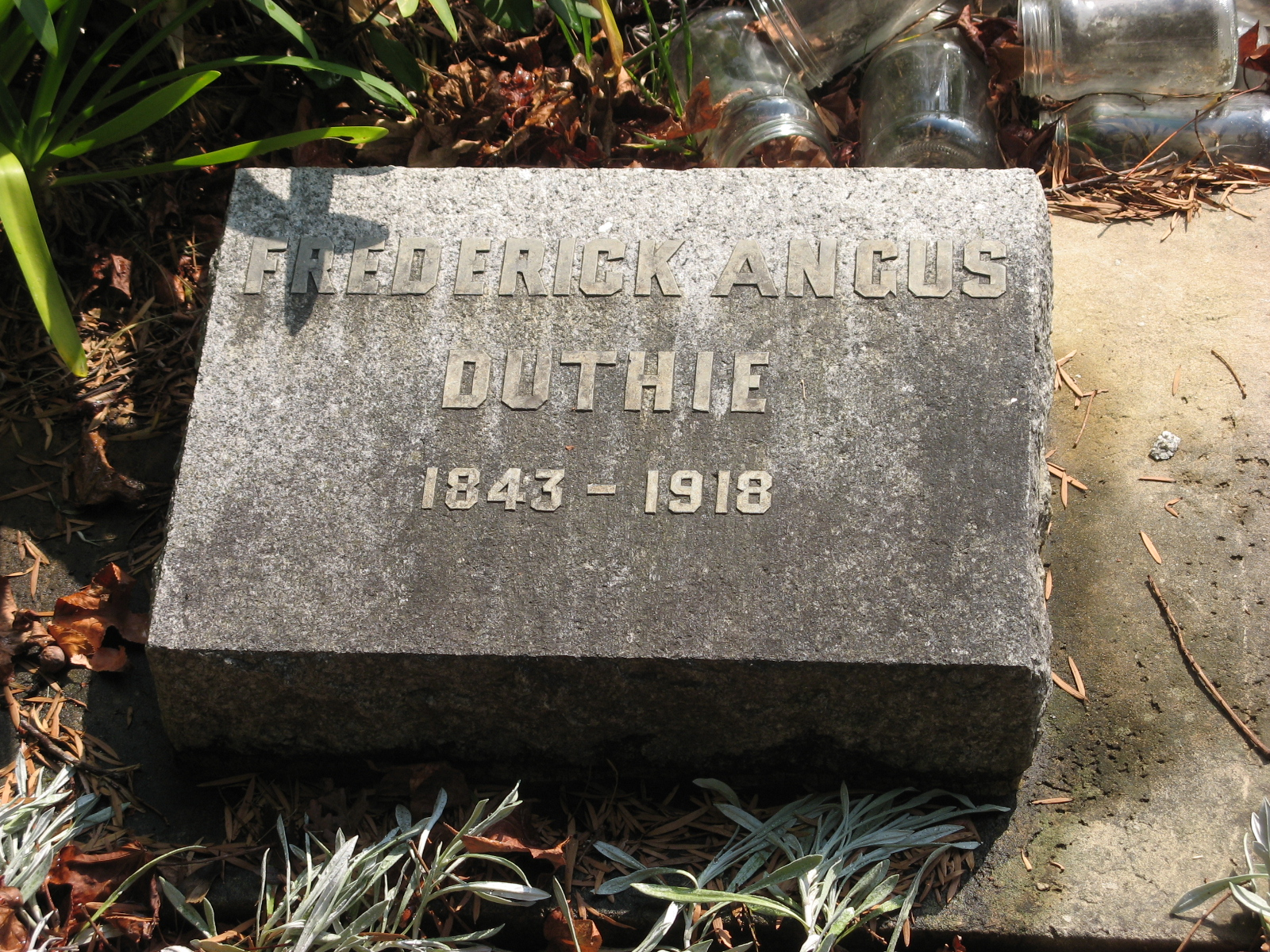 Duthie, Frederick Angus