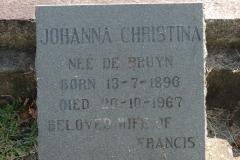 Newdigate, Johanna Christina