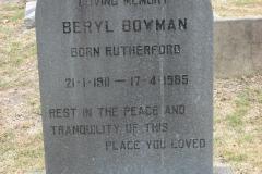 Bowman, Beryl