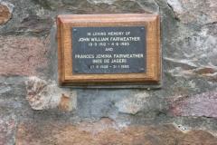 Fairweather, John William + Fairweather, Frances Jemima