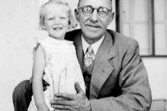 Unknown man and child