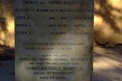 Brumfield, Thomas Archibald & Brumfield Christina Sophis Johanna. Brumfield, Elizabeth & Brumfield John & Brumfield, Maria & Brumfield, Ellen