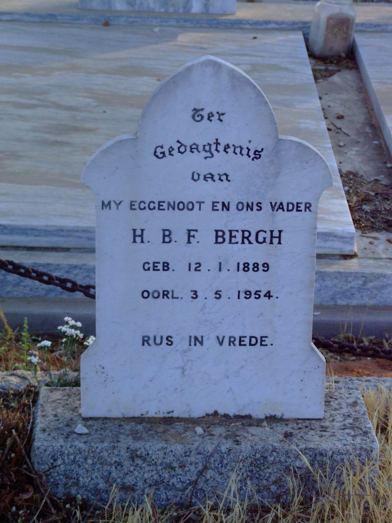 Bergh, H.B.F.