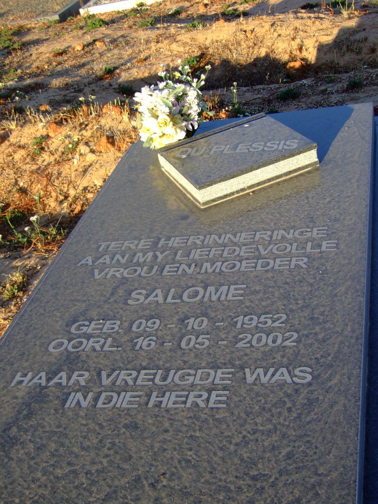 Du Plessis, Salome