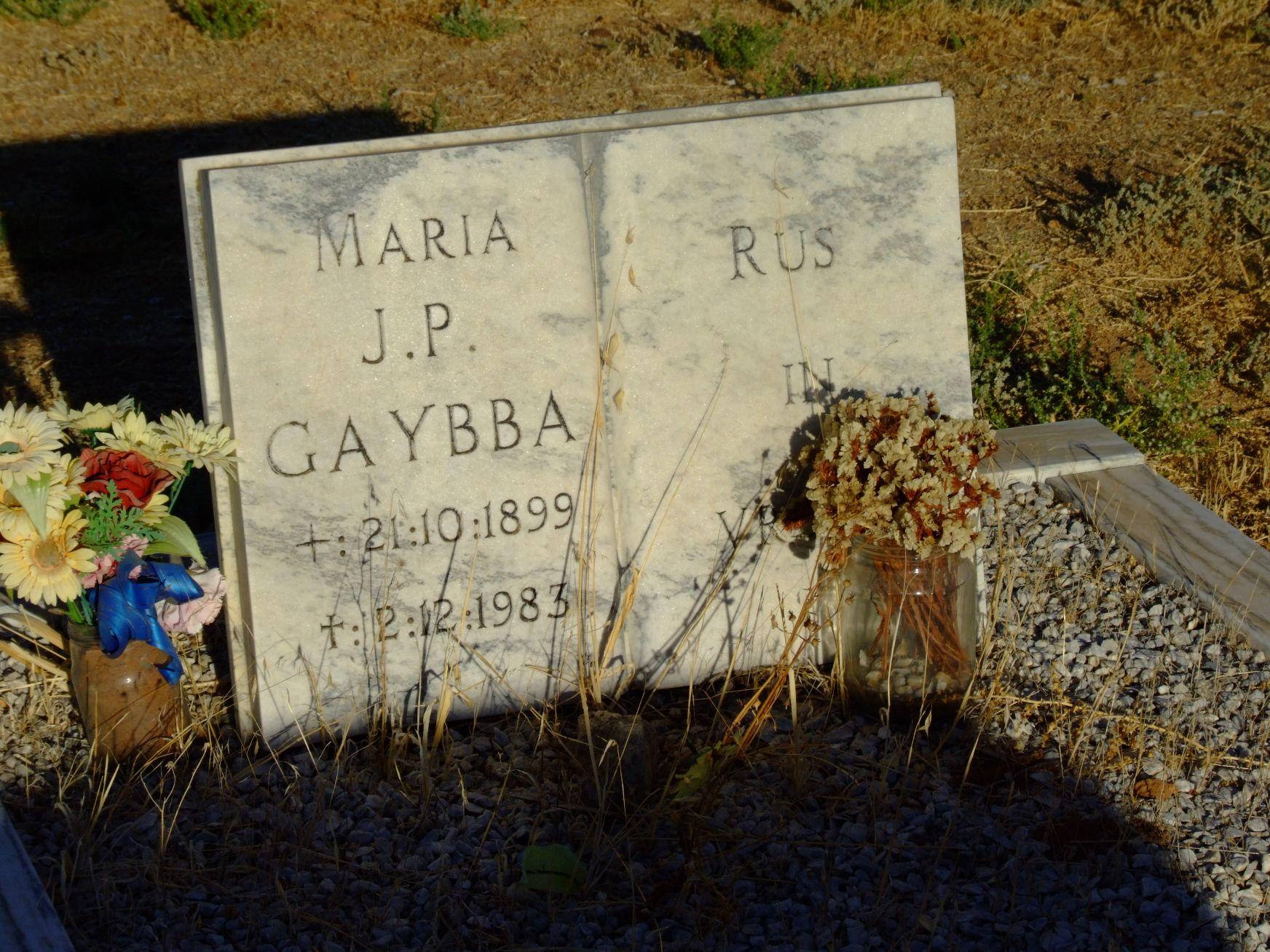 Gaybba, Maria J. P.