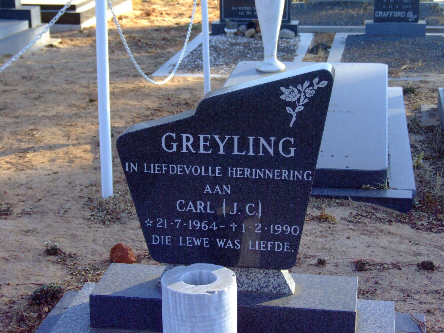 Greyling, Carl