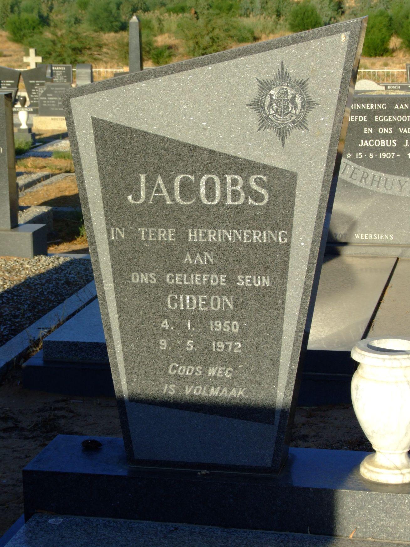 Jacobs, Gideon