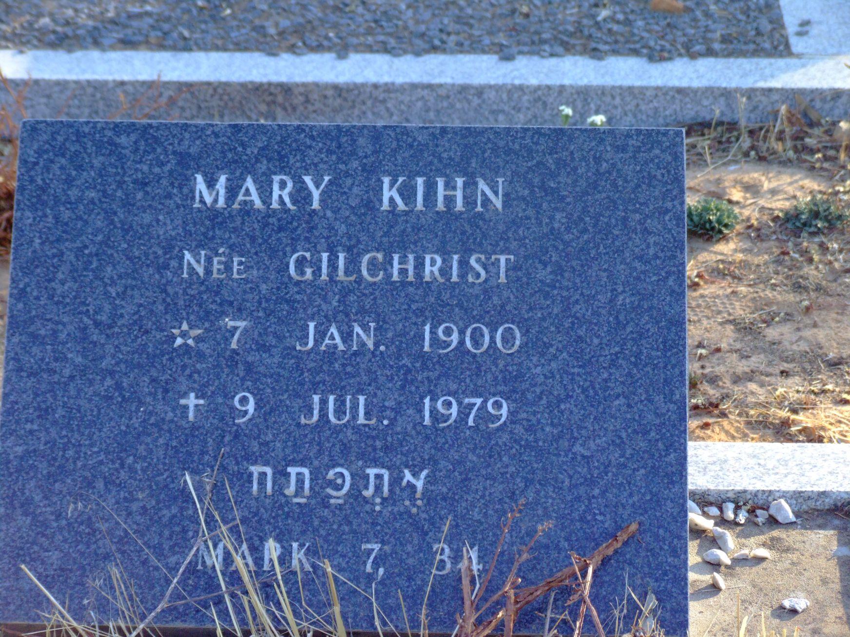 Kihn, Mary