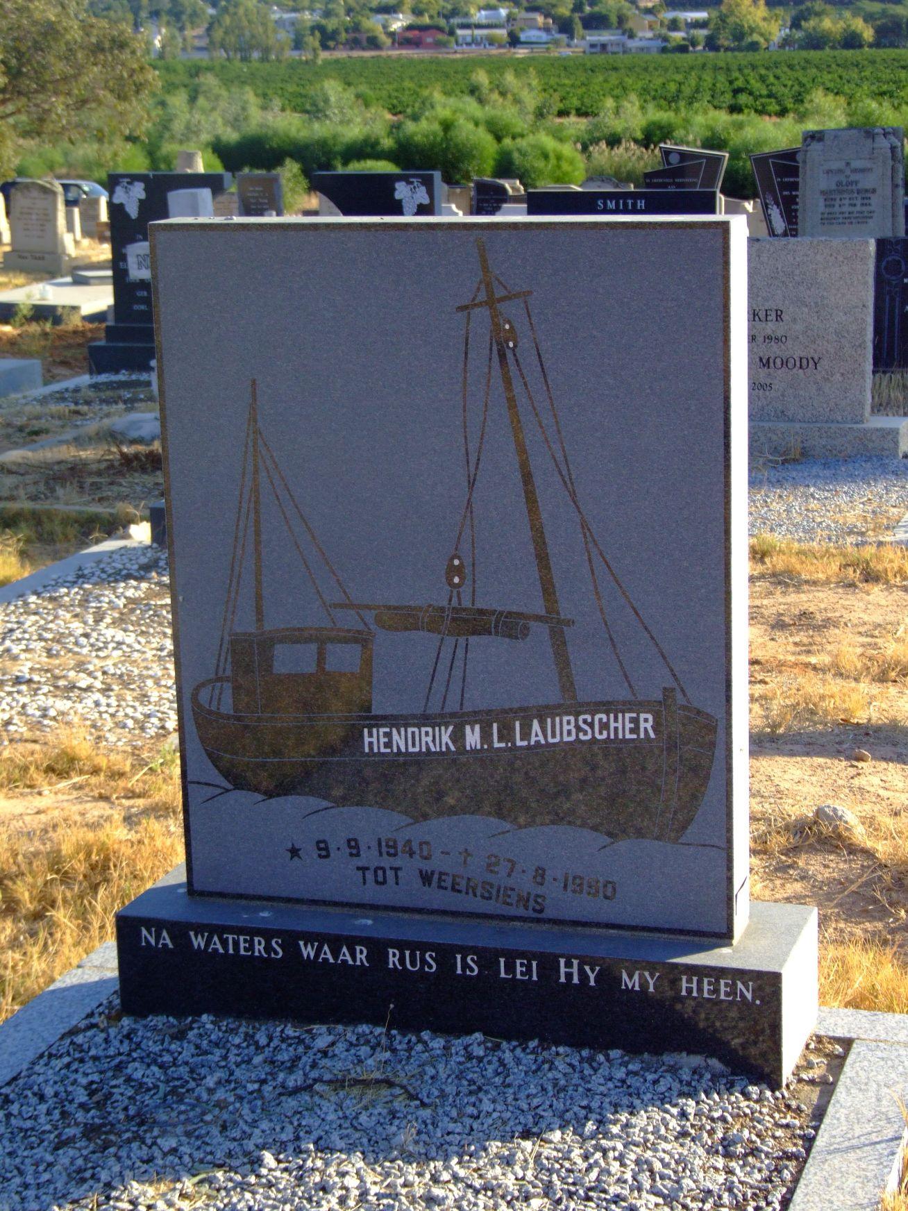 Laubscher, Hendrik M.L.