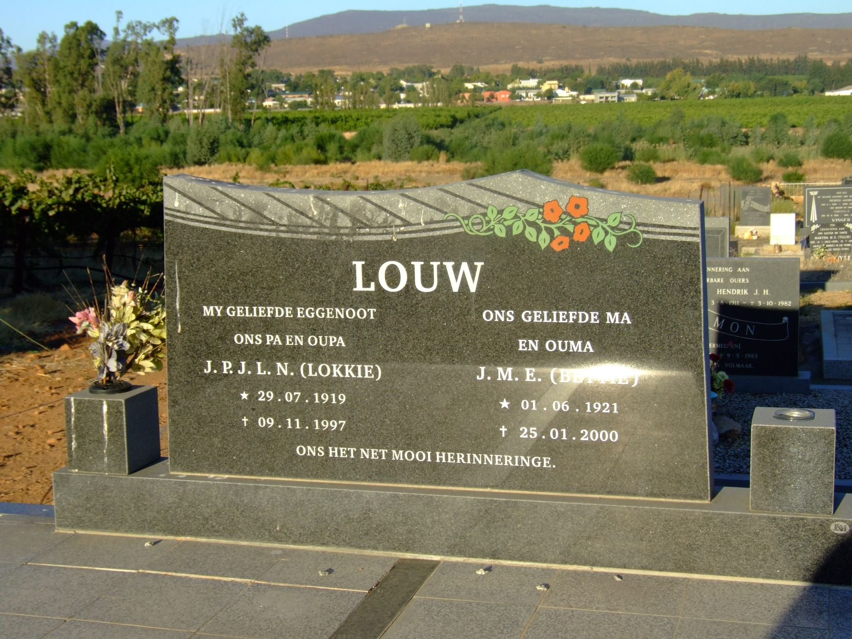 Louw, J.P.J.L.N. and J.M.E.