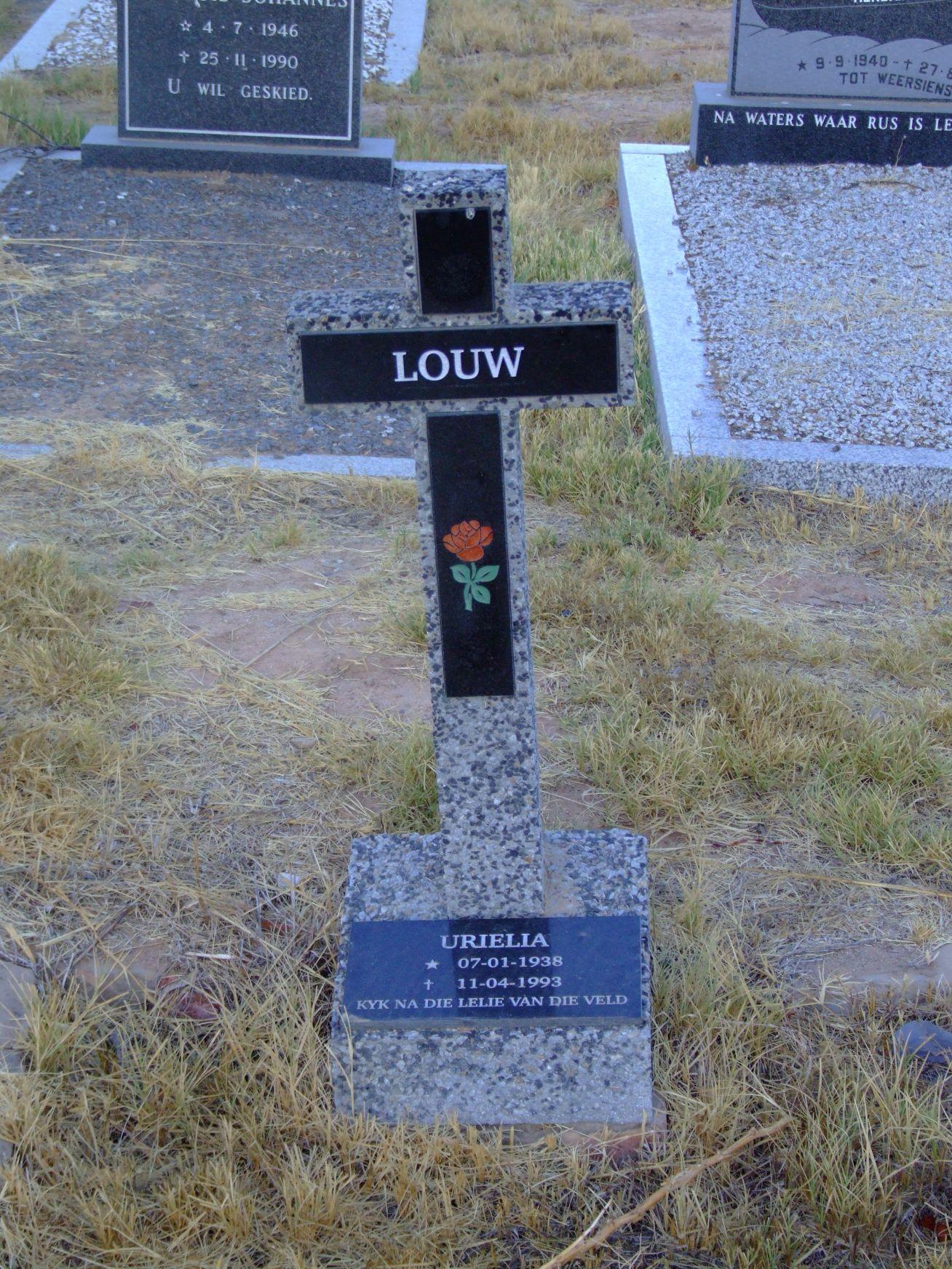 Louw, Urielia