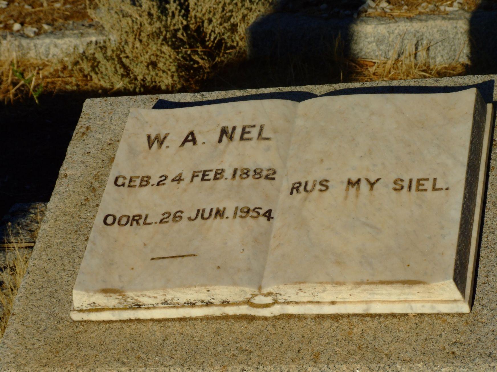 Nel, W. A.