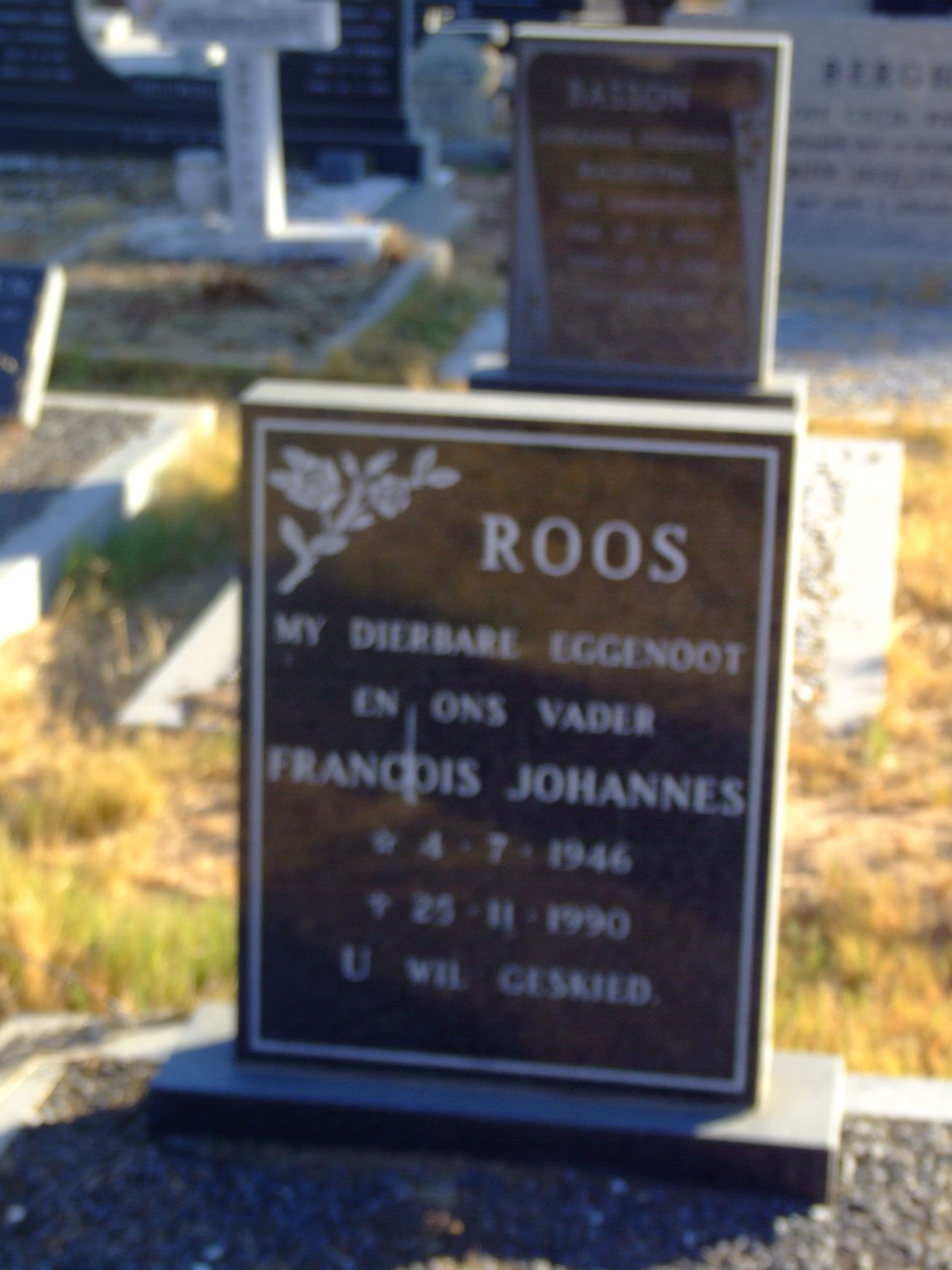 Roos, Francois