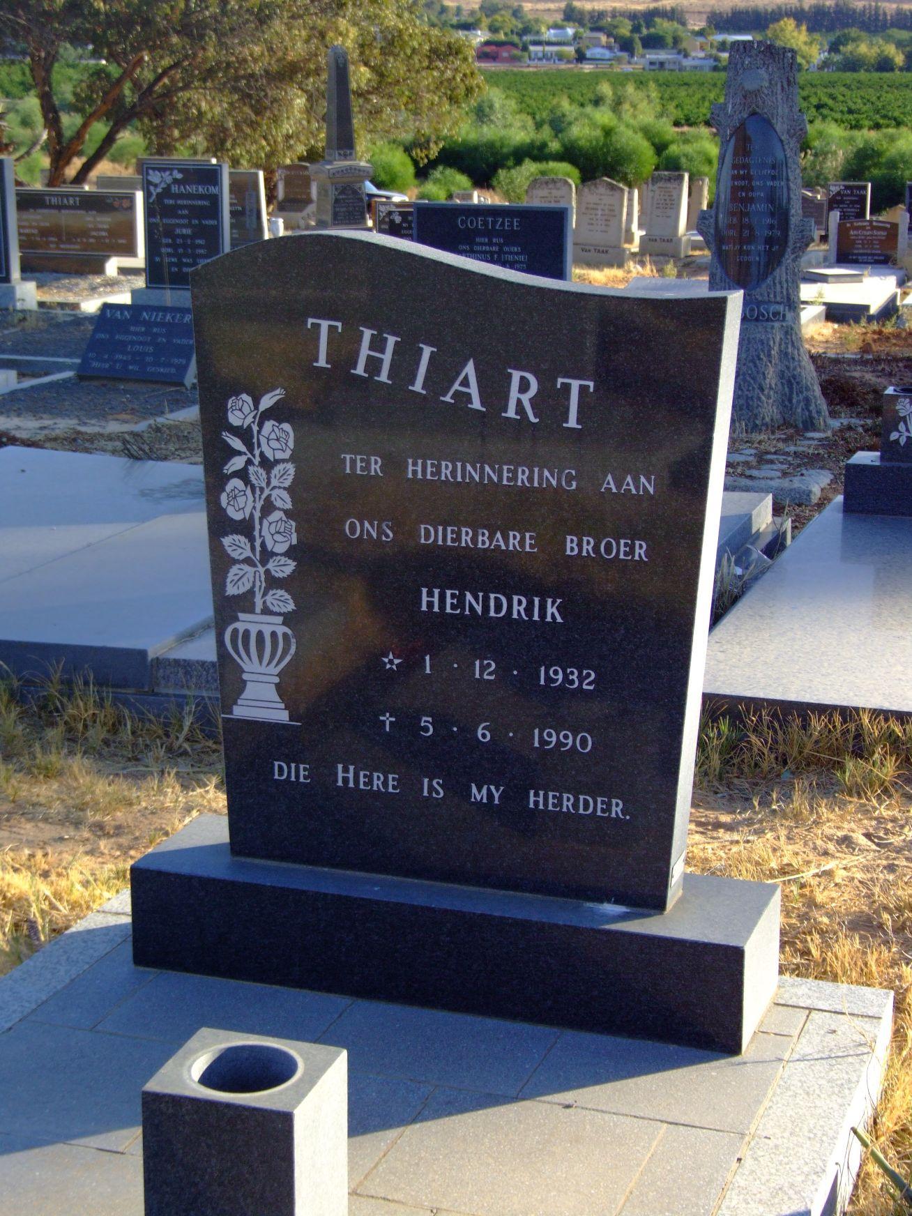 Thiart, Hendrik
