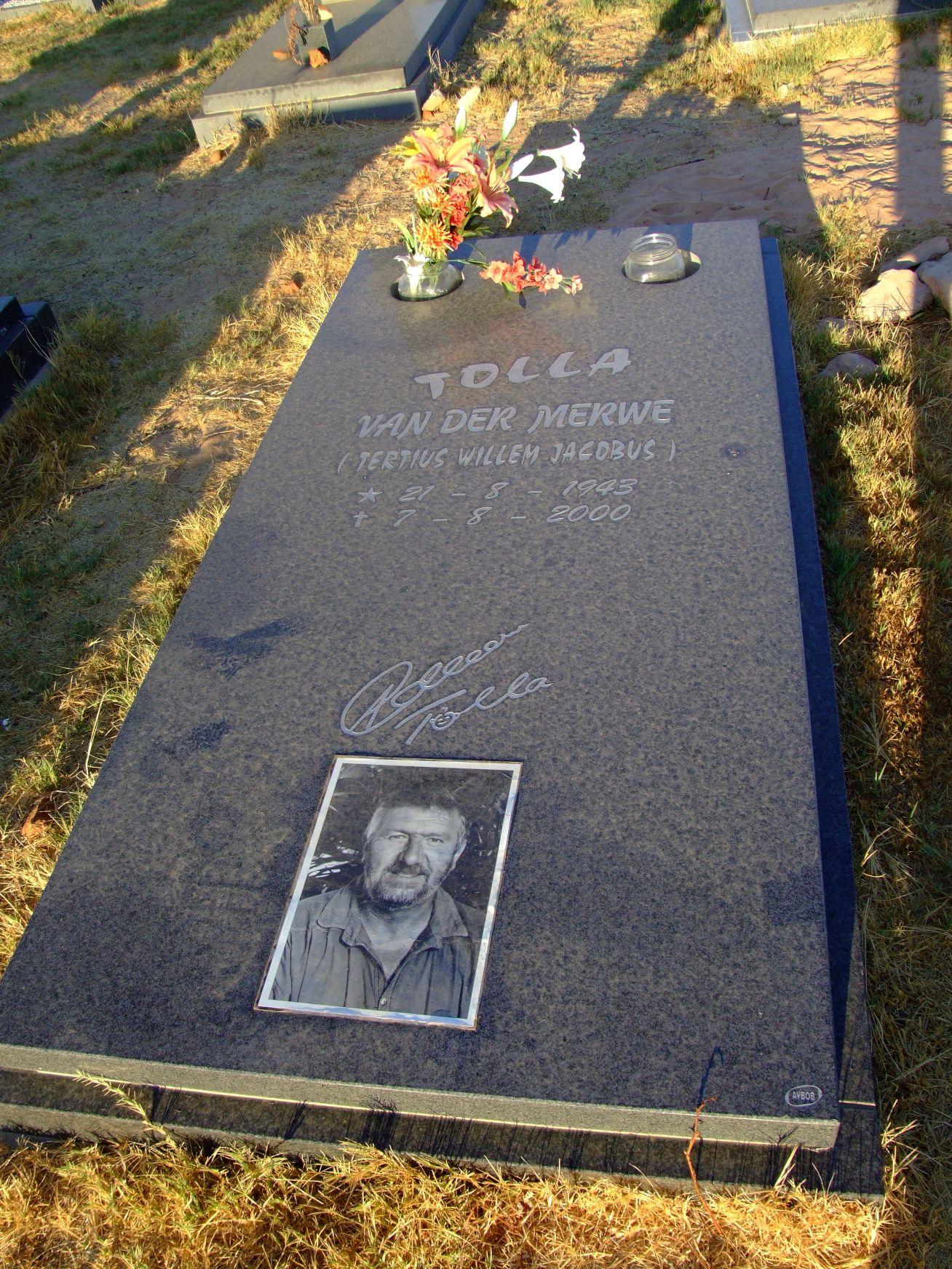 van der Merwe, Tolla (Tertius Willem Jacobus)