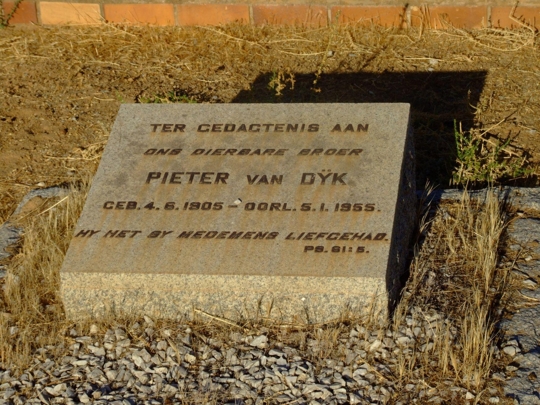 van Dyk, Pieter