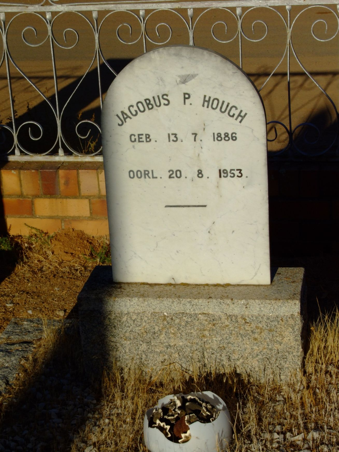 Hough Jacobus P
