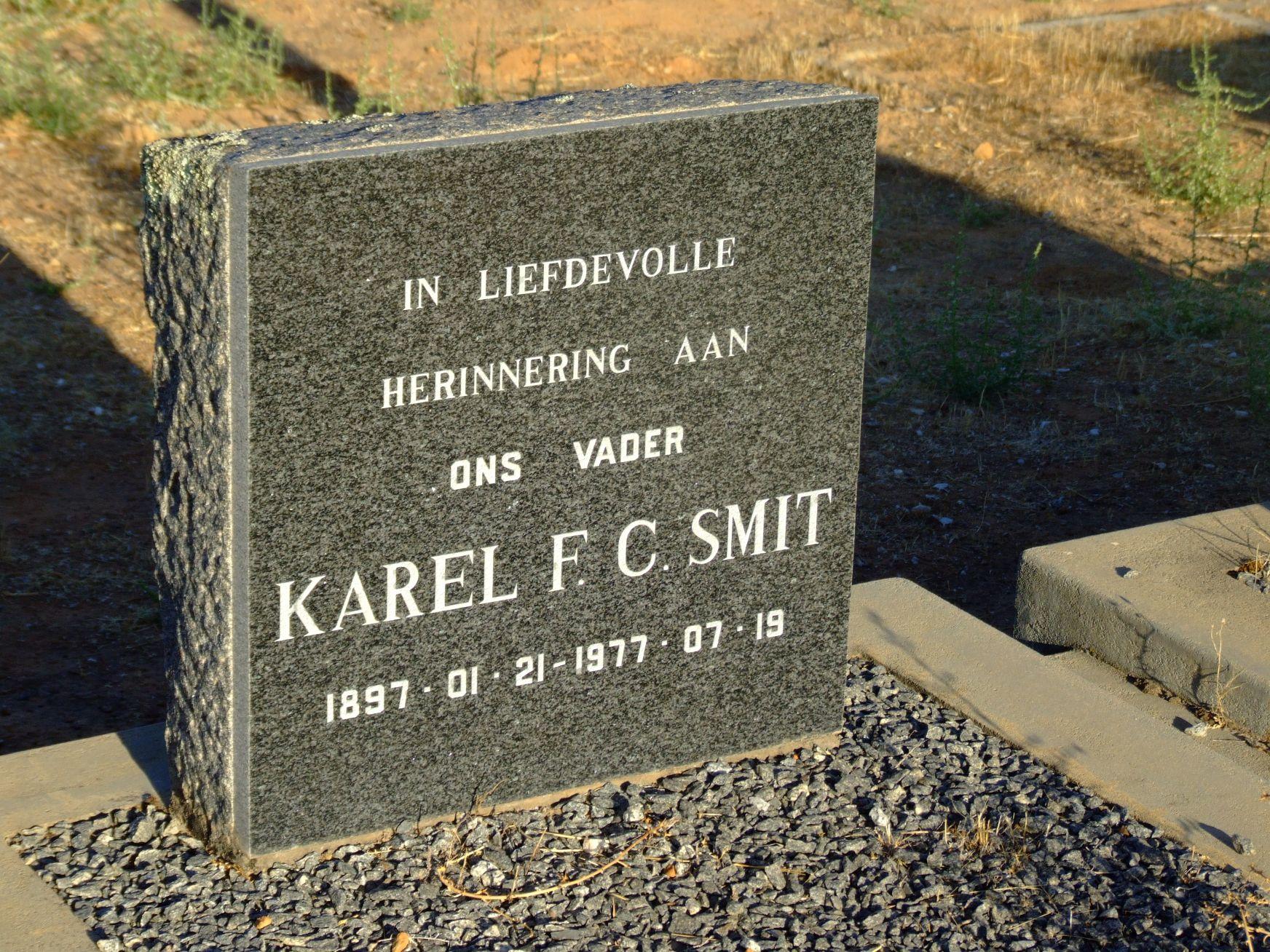 Smit Karel F C