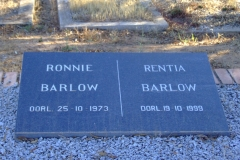 Barlow, Ronnie and Rentia