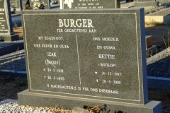 Burger, Izaak + Burger, Bettie