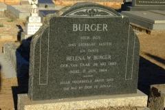 Burger, Helena W. nee Van Taak