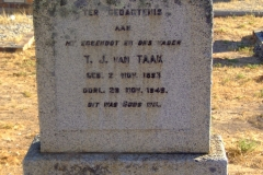 Van Taak, T. J.