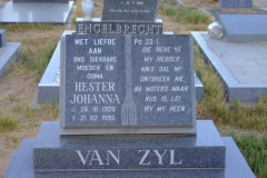 Van Zyl, Hester Johanna