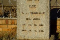 Vermeulen, Elsie S J
