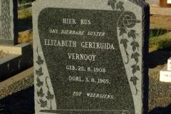 Vernooy, Elizabeth Gertruida