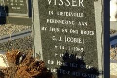 Visser G J (Cobie)