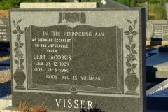 Visser, Gert Jacobus