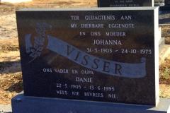 Visser, Johanna + Visser, Danie