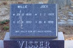 Visser, Willie + Visser, Joey