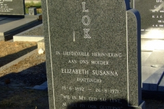 Vlok, Elizabeth Susanna