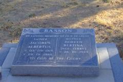 Basson, Jacobus Albertus and Doreen Bertina nee Terry