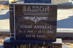 Basson, Josias Andreas