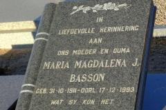 Basson, Magdalena J.