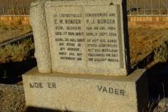 Burger, E. W. (nee Olivier) and Burger. P. J.