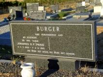 Burger, Johannes D. P. (Prins)