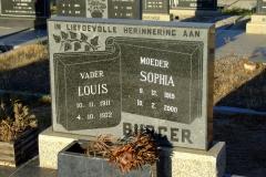 Burger, Louis and Burger, Sophia