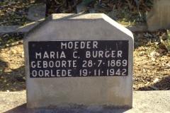 Burger, Maria C