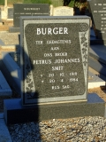 Burger, Petrus Johannes Smit