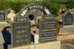 Burger, Willem P. and Burger, Christina W. (nee van Dyk)