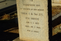 Van Zyl, Maria J. B. nee Goosen