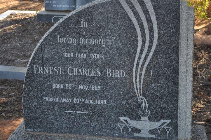 Bird, Ernest Charles