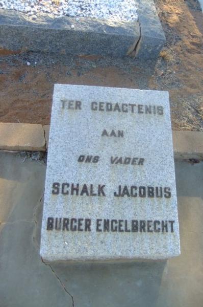 Engelbrecht, Schalk Jacobus Burger