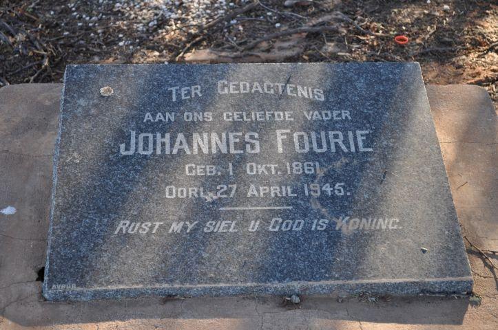 Fourie, Johannes